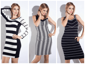 graphicbwdresses