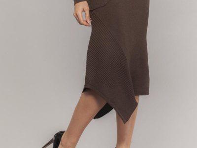 EW19061 skirt (brown)